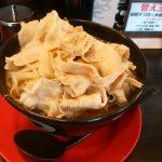 神戸ちぇりー亭で男盛りラーメンを食べてきた!