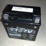 NMAXのバッテリーを補充電しました(バイク冬眠)