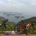 しまなみ海道サイクリング2日目(亀老山、サイクルジャージ)