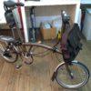キャンプ用にブロンプトンという折り畳み自転車を買いました!